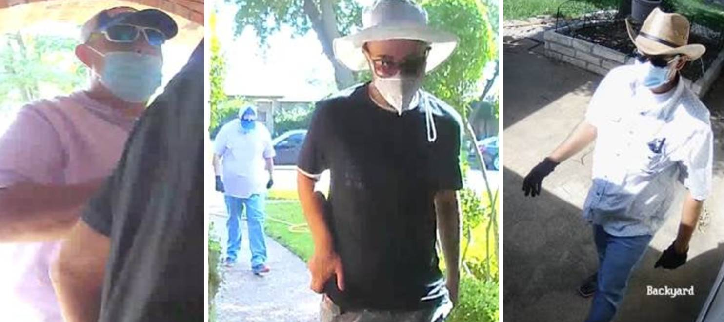 Garland Police: Burglar Suspects Enter Woman's Home Using COVID-19-Tainted Water Scam