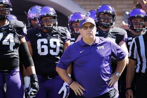 TCU Coach Patterson Apologizes For Repeating Racial Slur