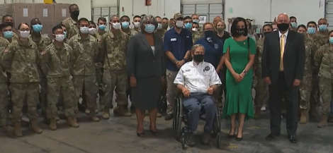 Governor Abbott Announces Federal Extension of Texas National Guard COVID-19 Mission