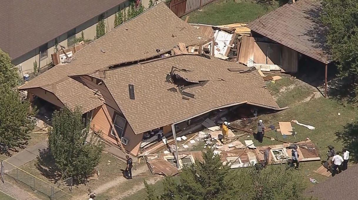 Home Explosion in Fort Worth, One Man Critically Injured