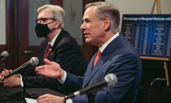 Governor Abbott Loosens COVID-19 Restrictions, Bars Remain Closed