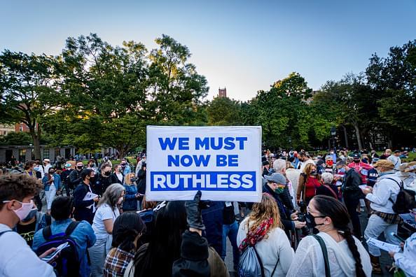 Vigils Honoring Ruth Bader Ginsburg as Pressure Mounts on GOP Over Filling Her SCOTUS Seat