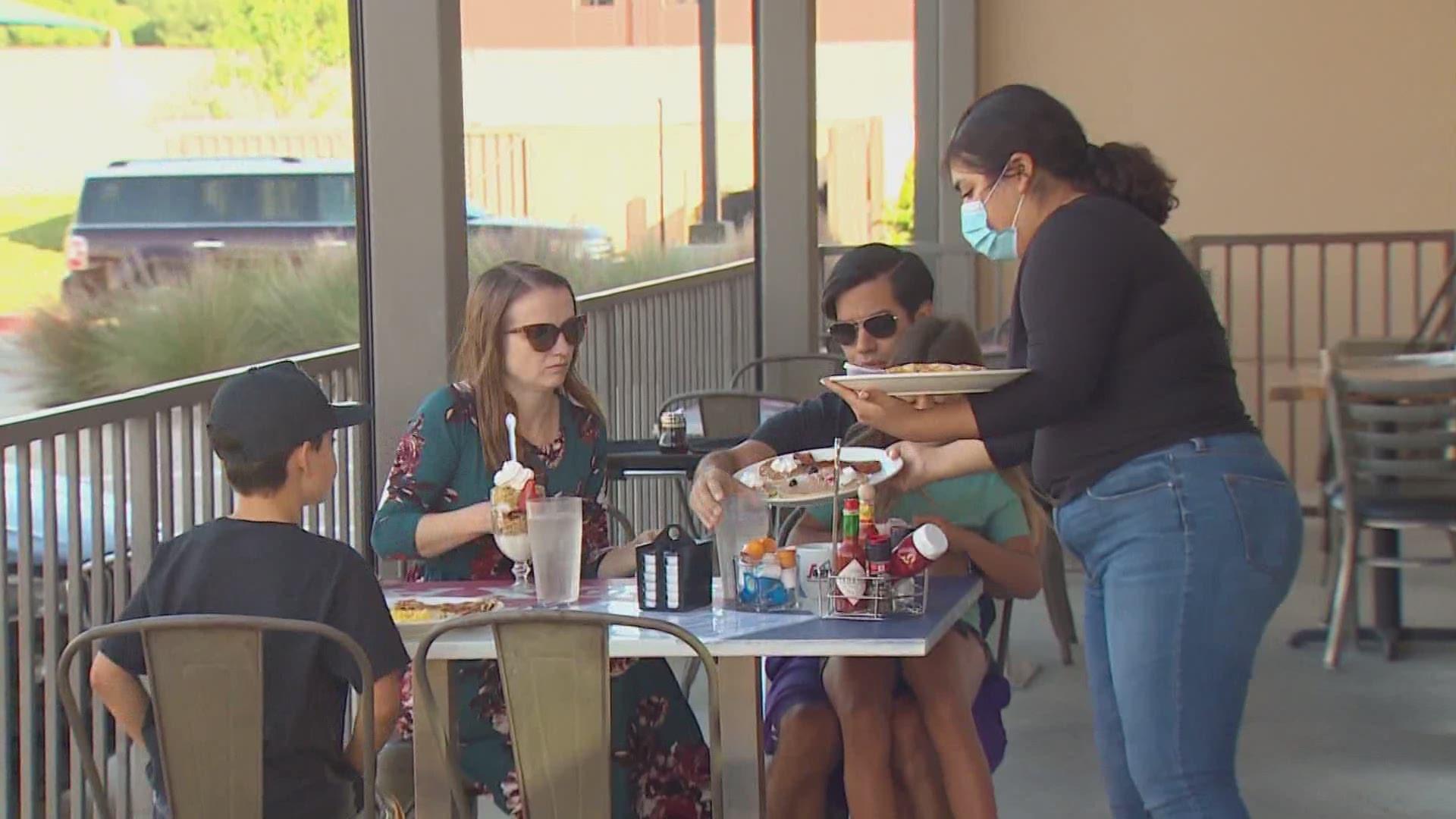 KLIF Morning News: Restaurants' Response to Texas Reopening