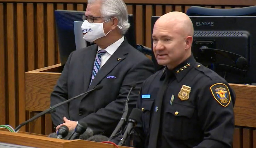 Fort Worth Names Deputy Neil Noakes, a 20 Year FWPD Veteran as Chief of Police