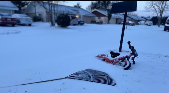 The Ernie Brown Show: A reexamination of recent winter storm