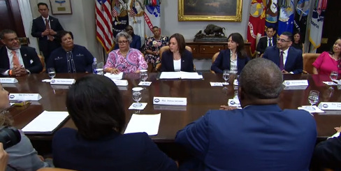 Texas Democrats join Vice President Harris for Voting Rights Roundtable