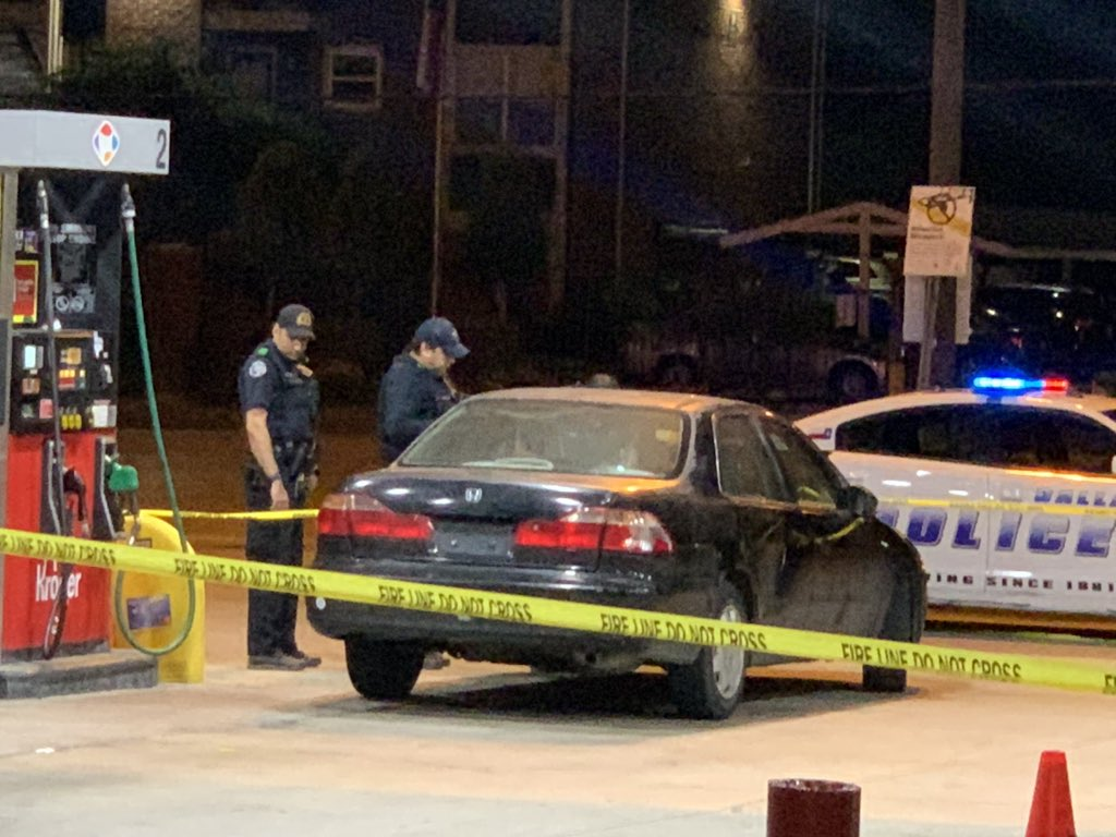 Shots Fired at an Off-Duty Officer at Dallas Gas Station