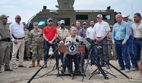 Governor says Texas Will Continue Surging State Resources to Secure the Border