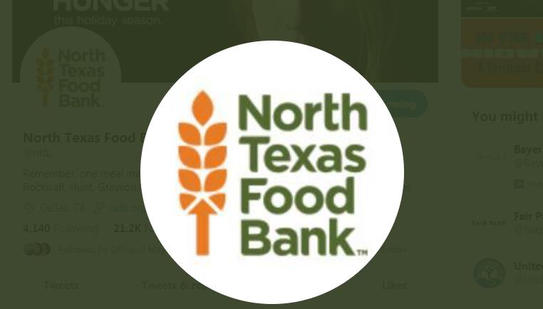 """North Texas Food Bank's """"Feed the Need"""" Drive Kicks Off at State Fair Friday"""
