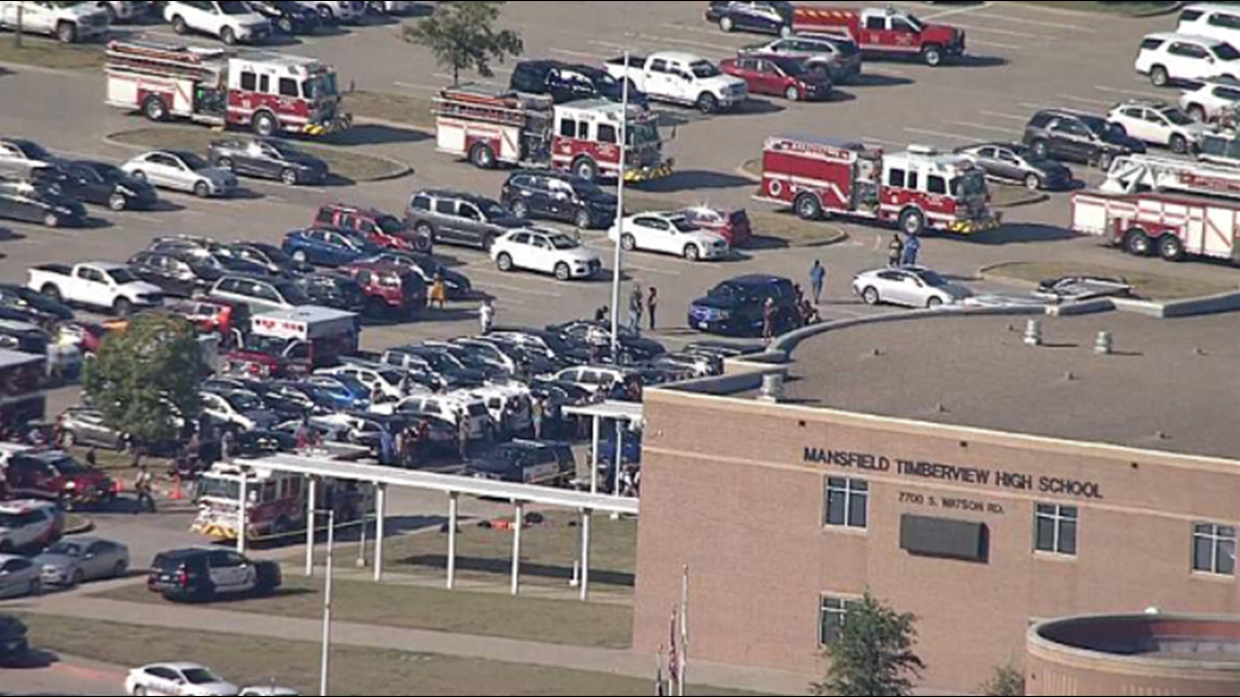 Shooter in Custody in Connection with Shooting at Timberview High School in Mansfield ISD