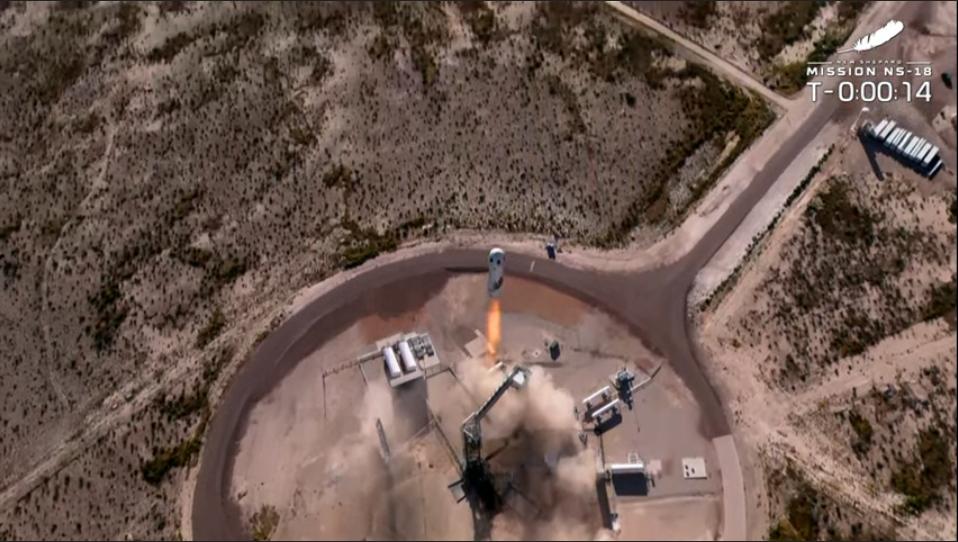 Blue Origin Successfully Completes Second Flight with Star Trek Actor William Shatner on Board