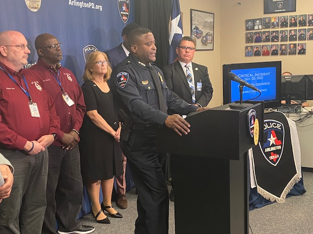 Arlington Officer Fired, Chief Promises Transparency