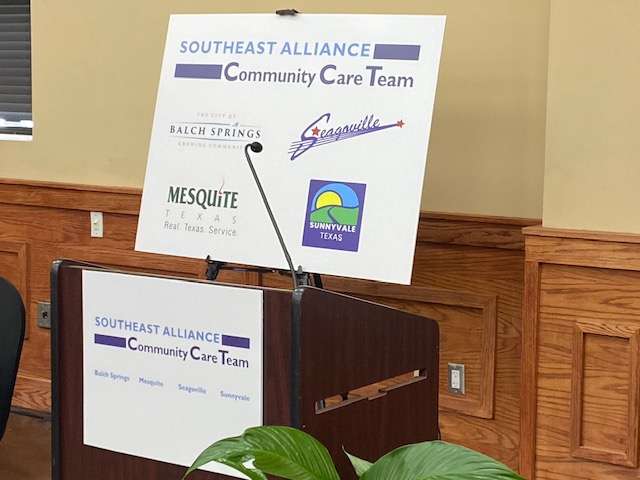 Cities in Southeast Dallas County Partner to Address Mental Health