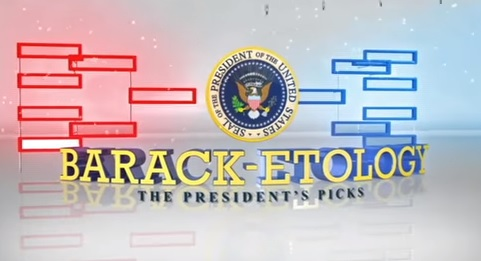 President Obama Fills Out His 2016 Men's Basketball Tournament Bracket [VIDEO]