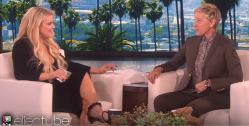Ellen's Awkward Interview With Jessica Simpson [VIDEO]