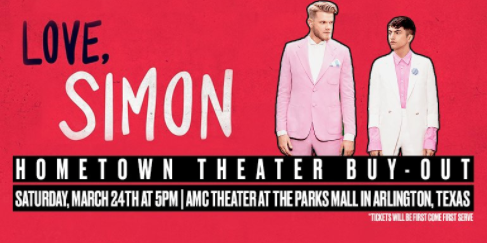 Love, Simon Theater Buyout In Arlington Thanks To Super Fruit From Pentatonix