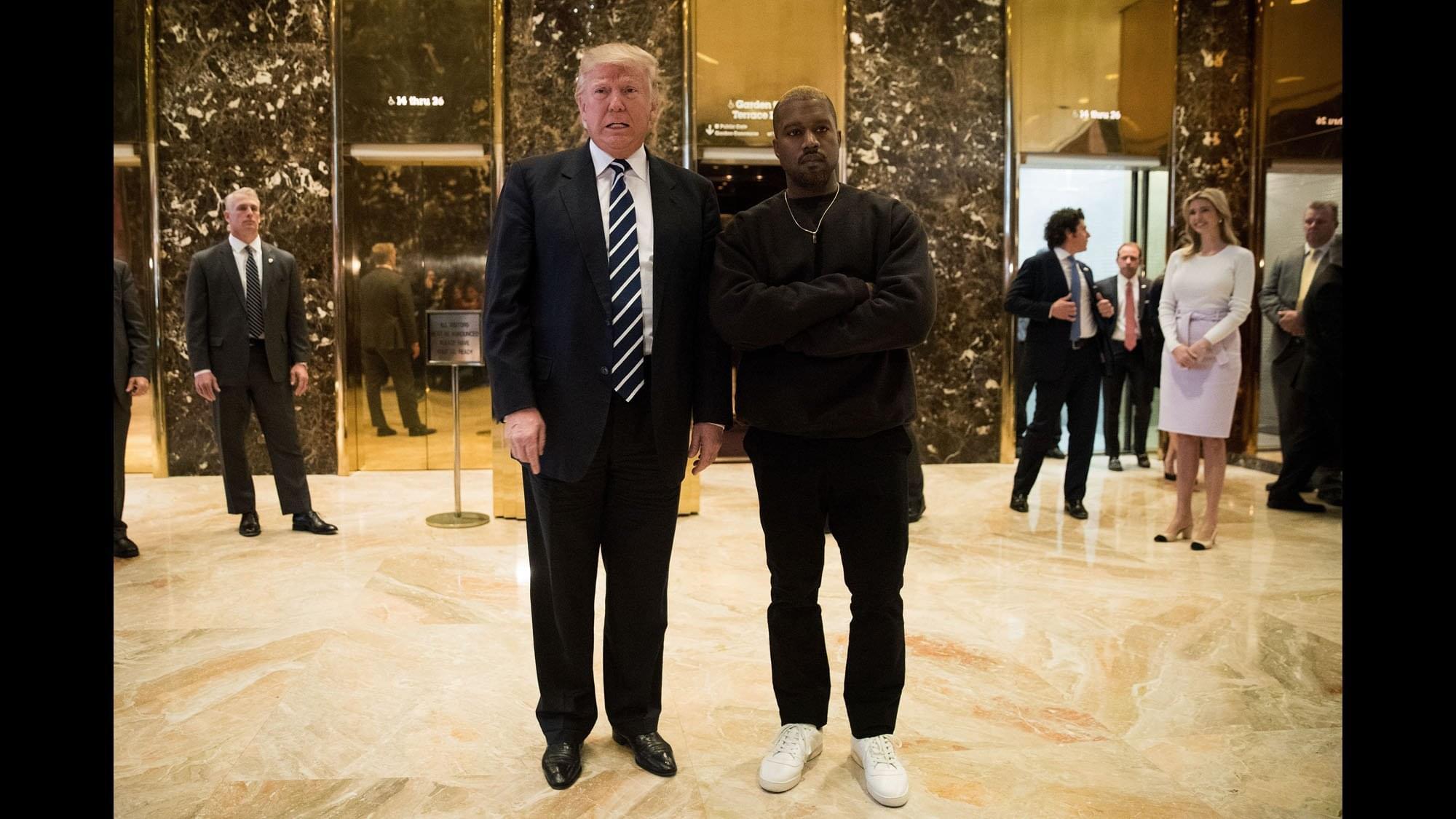 Kanye West Praises President Trump On Twitter