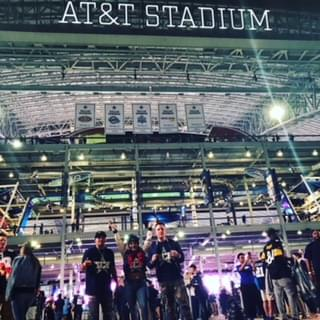 TCR celebrates first week in Dallas at AT&T Stadium!