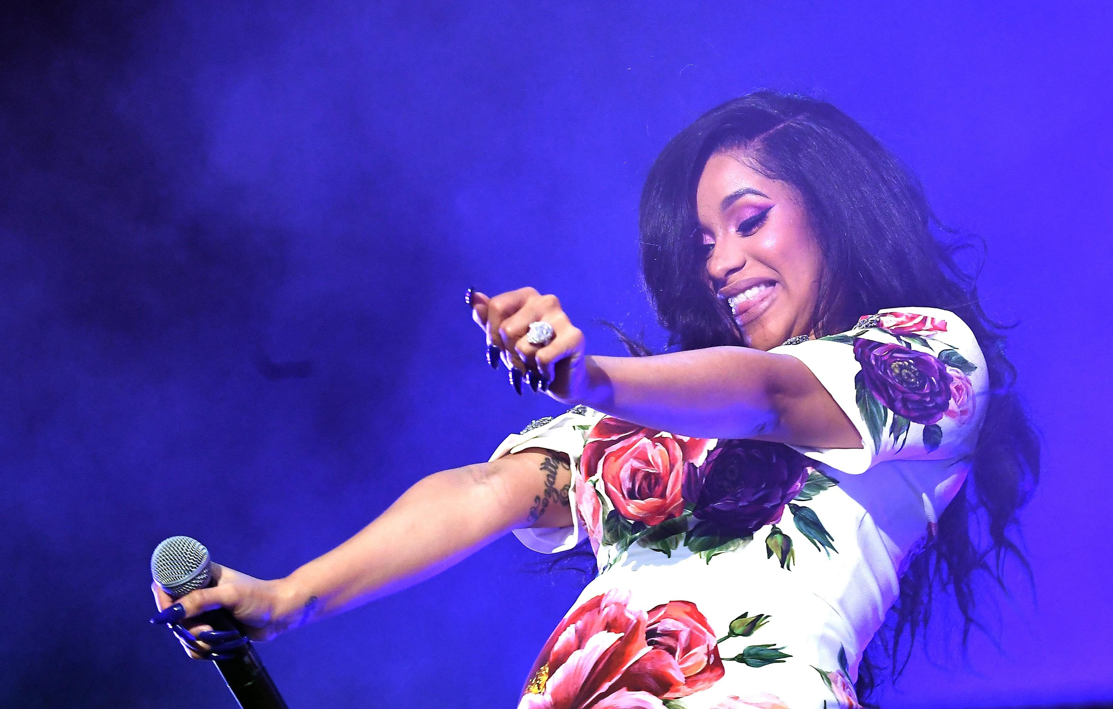 Cardi B Shares First Photo Of Her Daughter Kulture