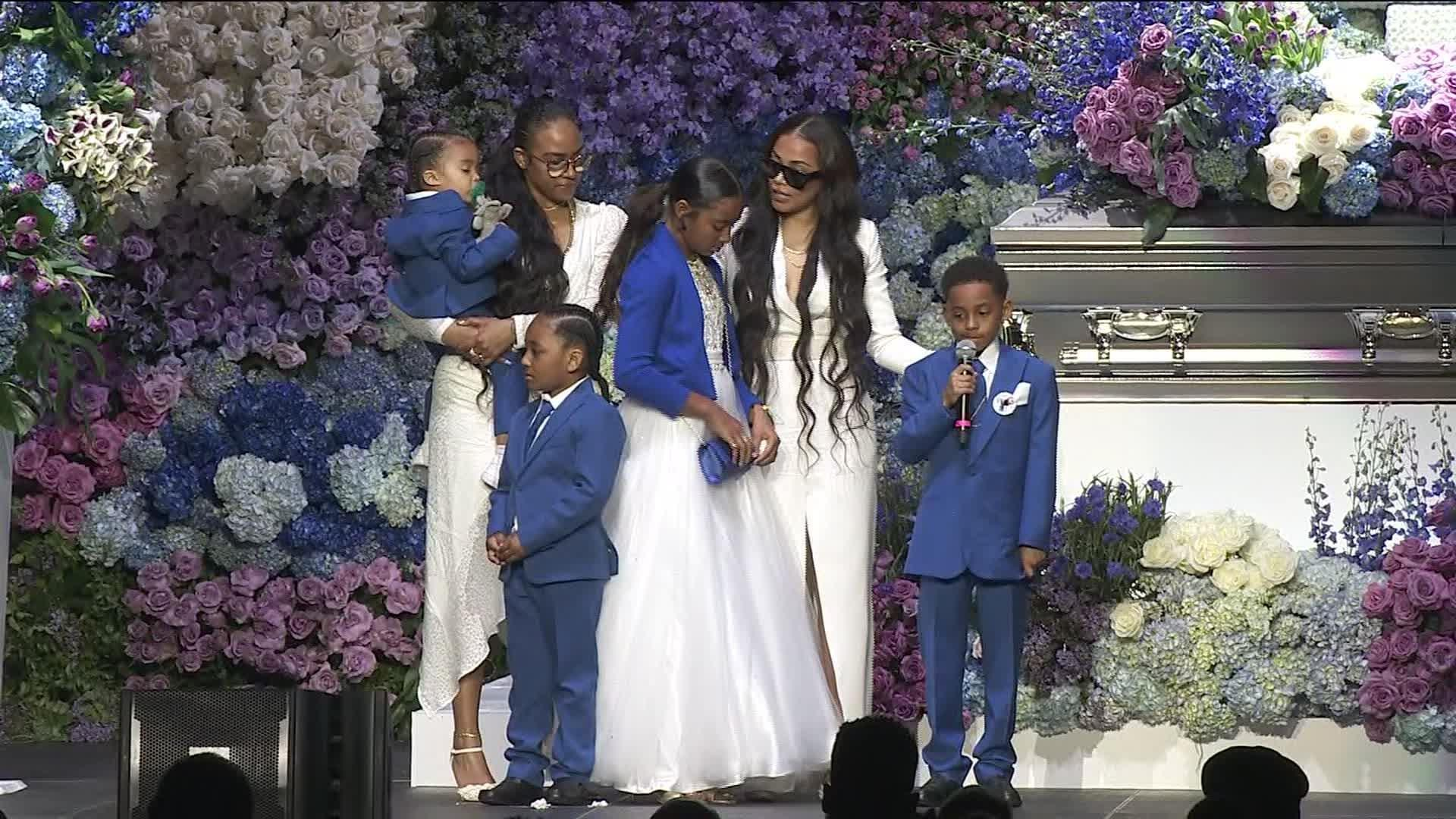 Nipsey Hussle Memorial: Lauren London's Emotional Tribute
