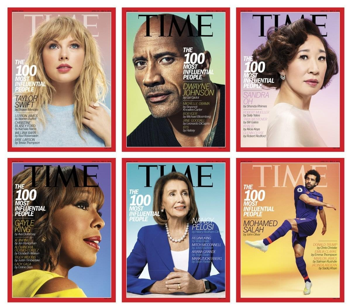 Time Magazine's 100 Most Influential People 2019 List