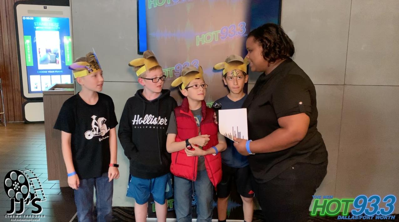 Detective Pikachu Screening with JJ