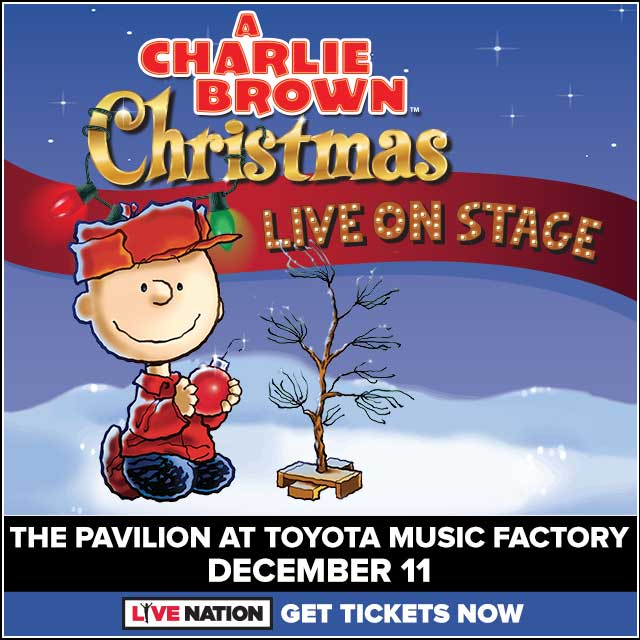 Charlie Brown Christmas @ Pavilion at Toyota Music Factory | 12.11.19