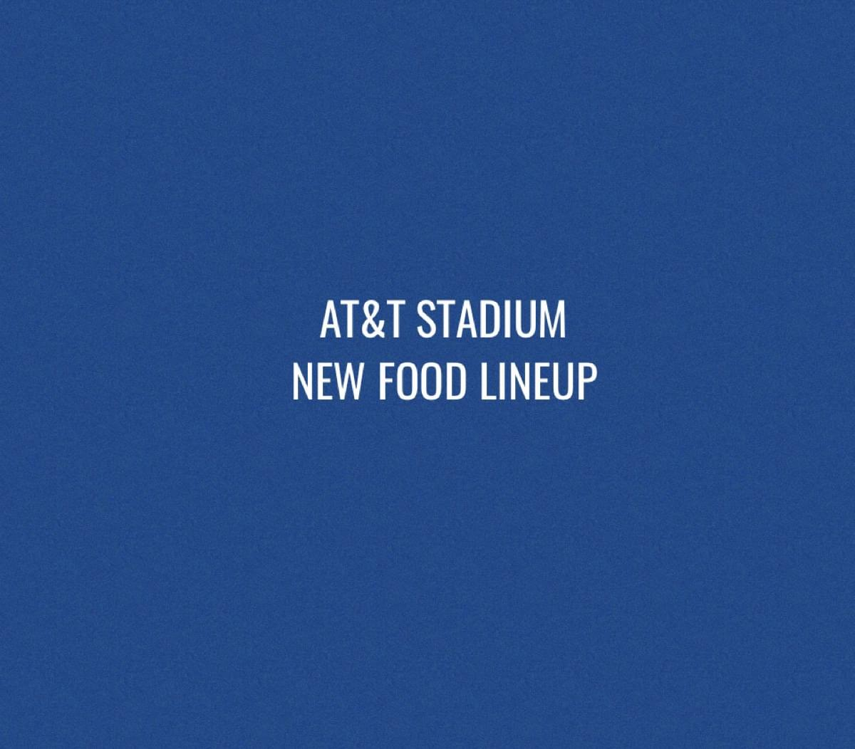 AT&T Stadium introduces new food lineup for 2019 football season