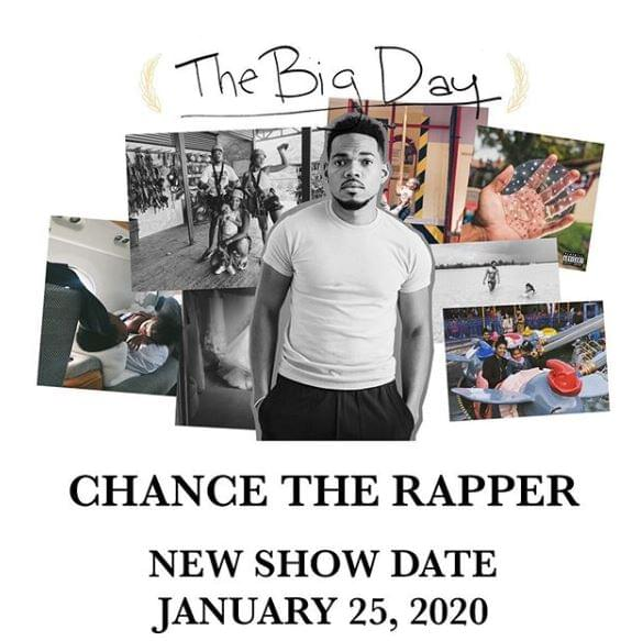 Chance the Rapper @ AAC  |  1.25.20