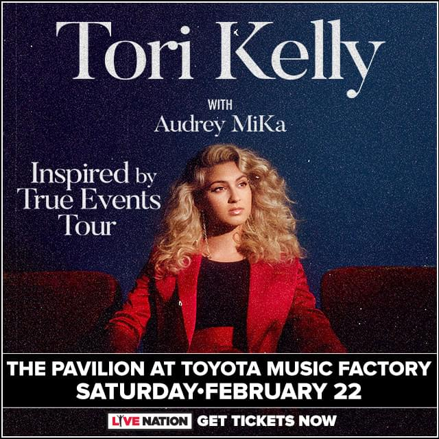 Tori Kelly @ The Pavilion at Toyota Music Factory | 2.22.19