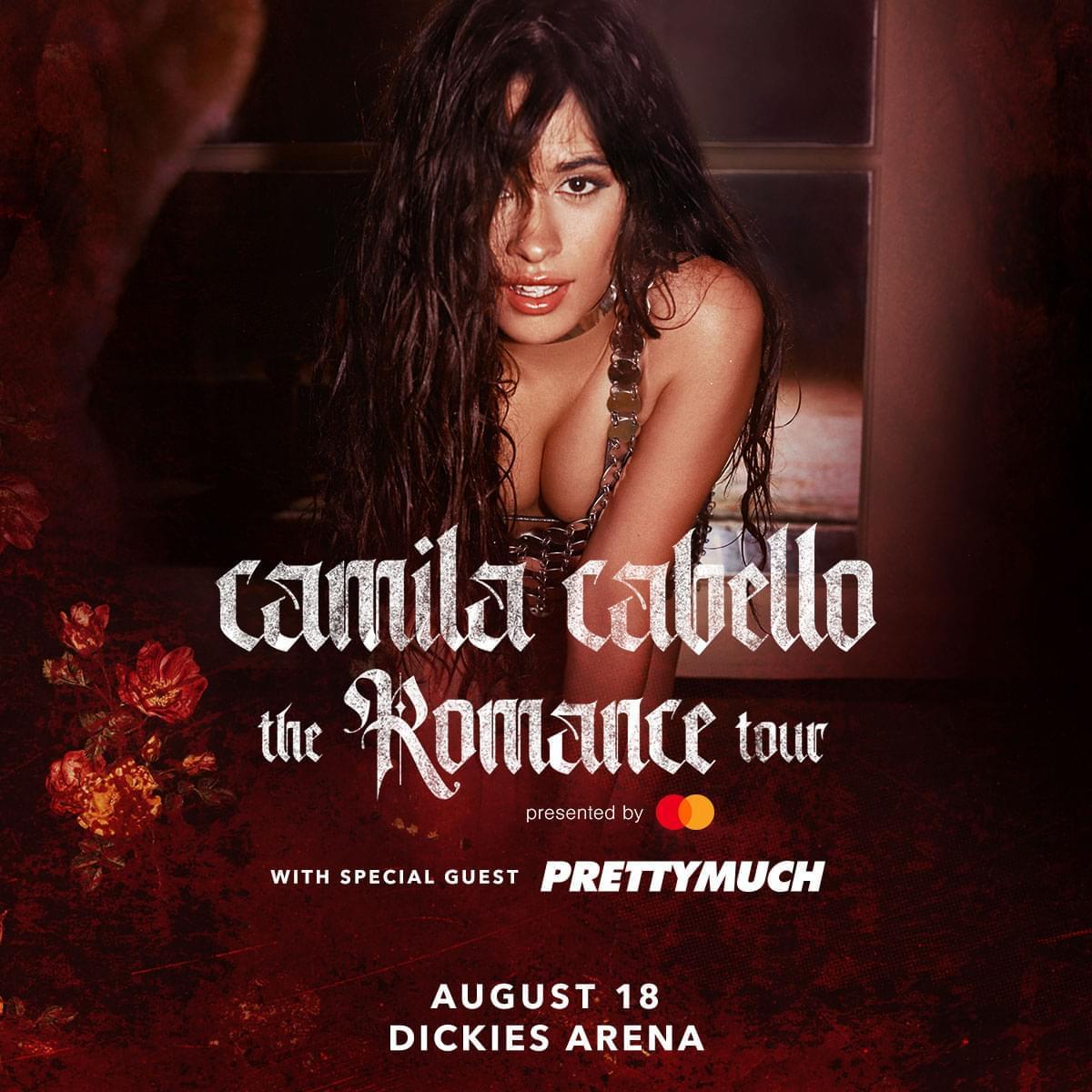Camila Cabello @ Dickies Arena | 8.18.20 – POSTPONED