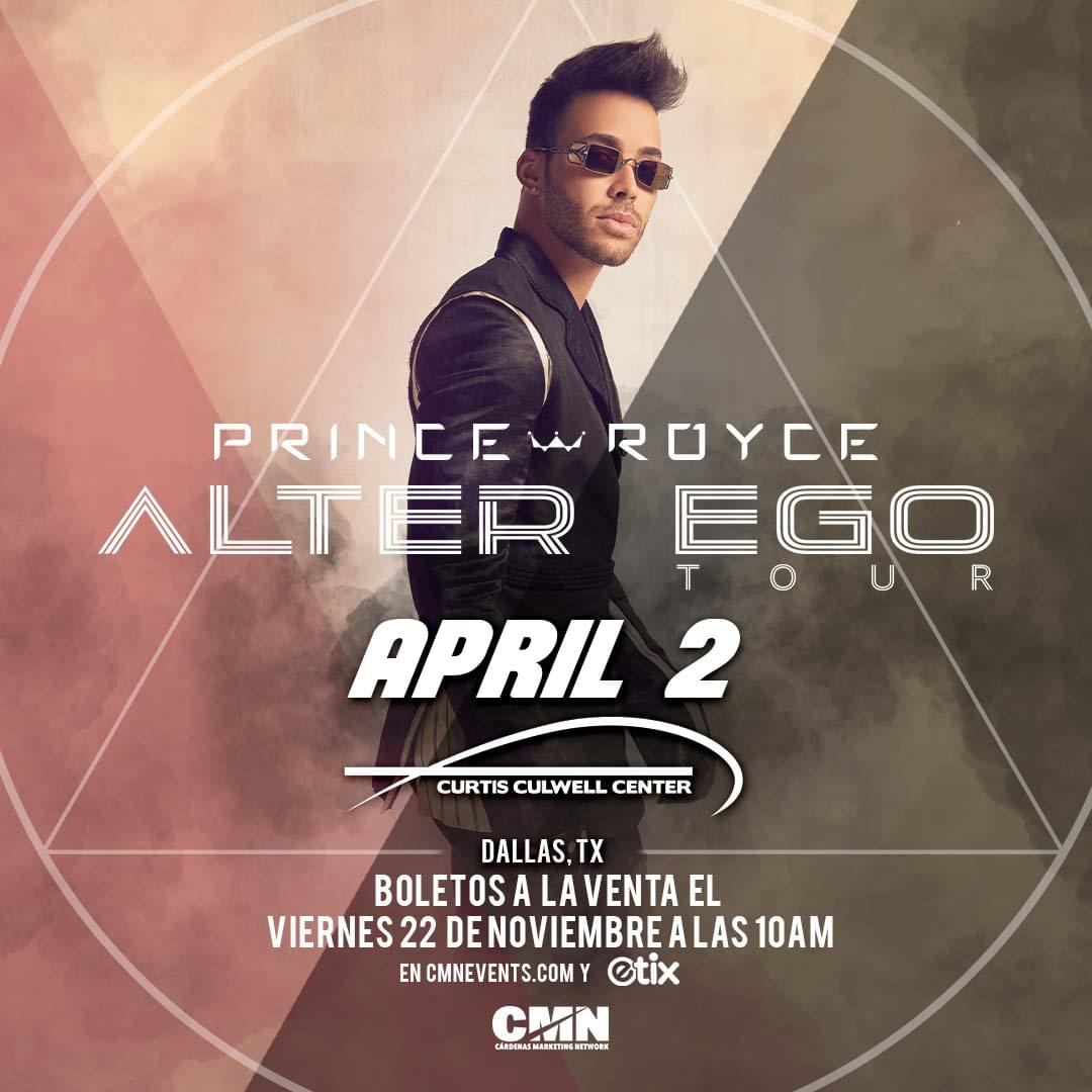 Prince Royce @ Curtis Culwell Center | 4.2.20