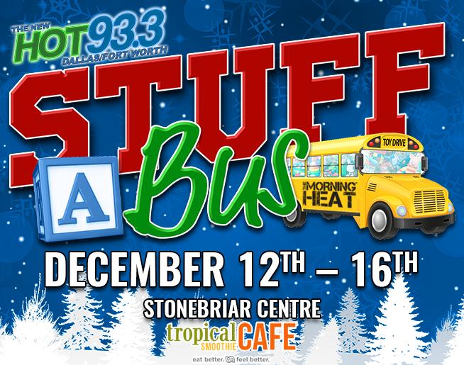Stuff a Bus @ Stonebriar Centre | 12.12.19 – 12.16.19