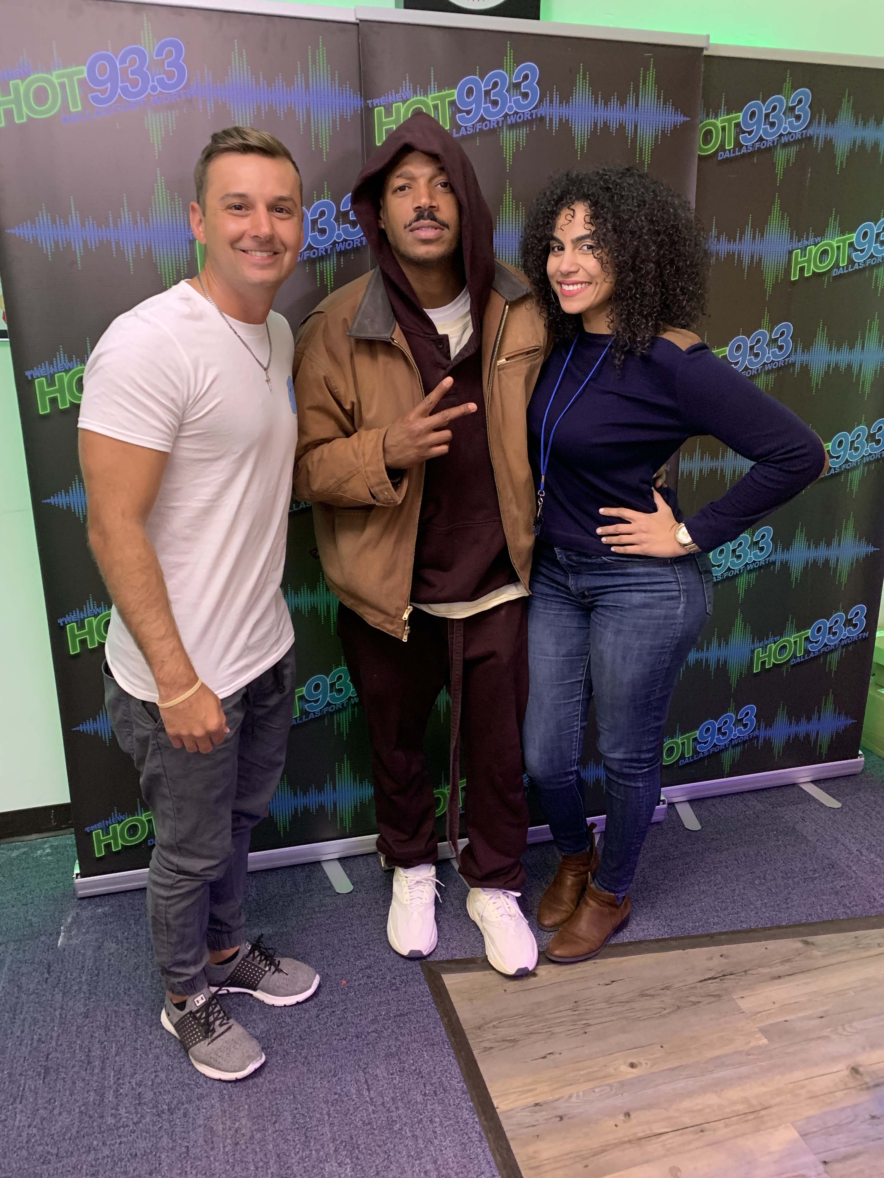 The Morning Heat's In Studio Interview with Marlon Wayans