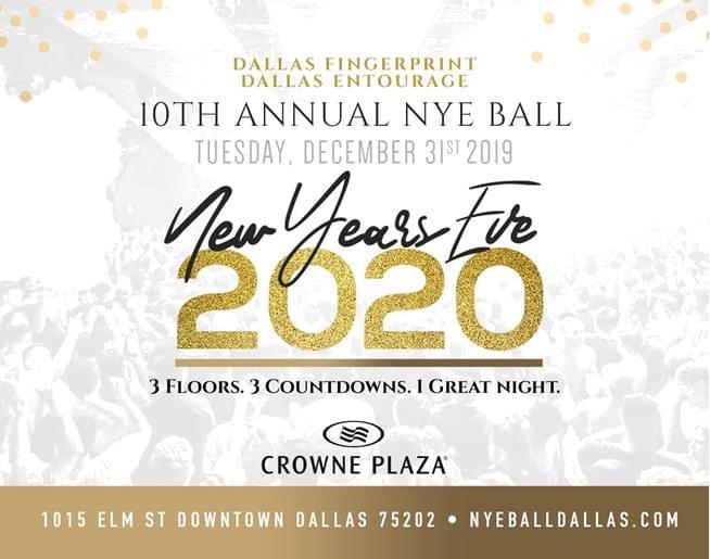 NYE Ball @ Crowne Plaza | 12.31.19
