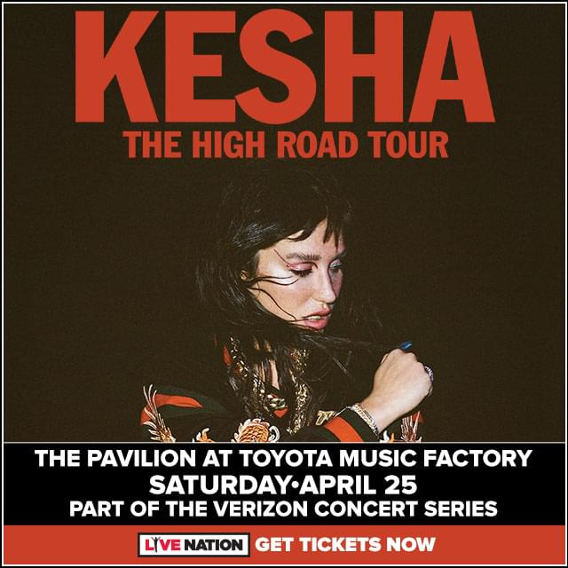 Kesha @ Pavilion at Toyota Music Factory | 4.25.19