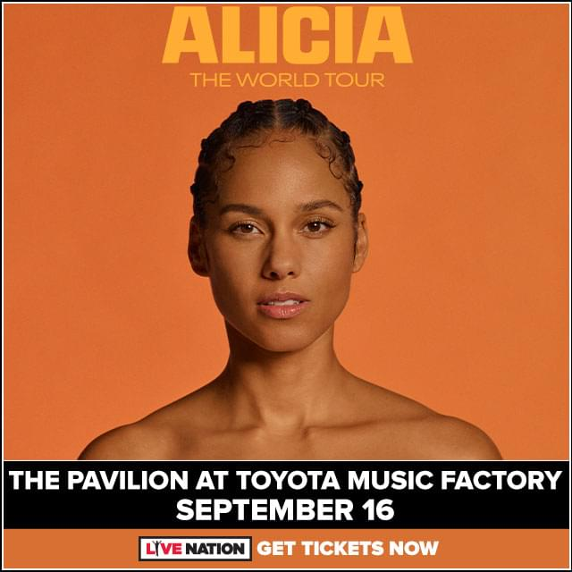 Alicia Keys @ Pavilion at Toyota Music Factory | 9.16.20