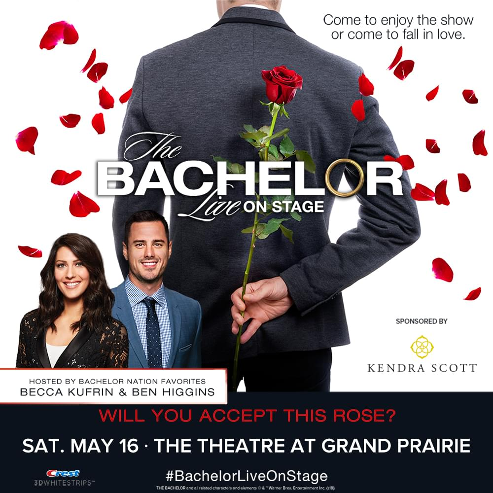 Bachelor Live @ Theatre at Grand Prairie | 5.13.20