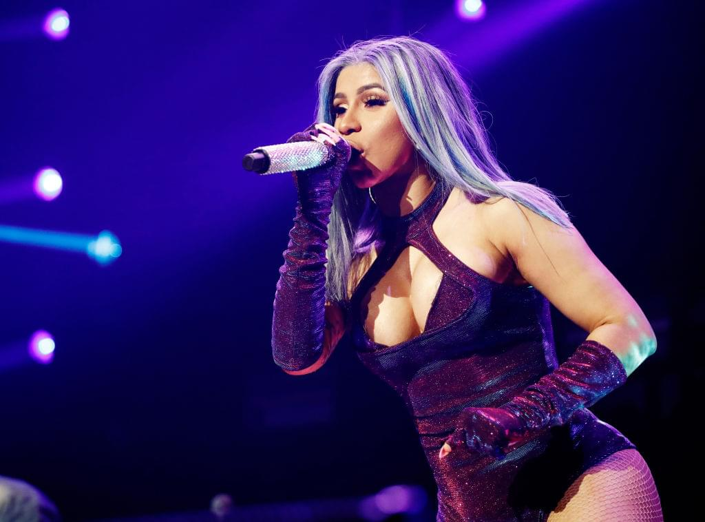 Watch Cardi B Dance To JLO / Shakira's SB Performance