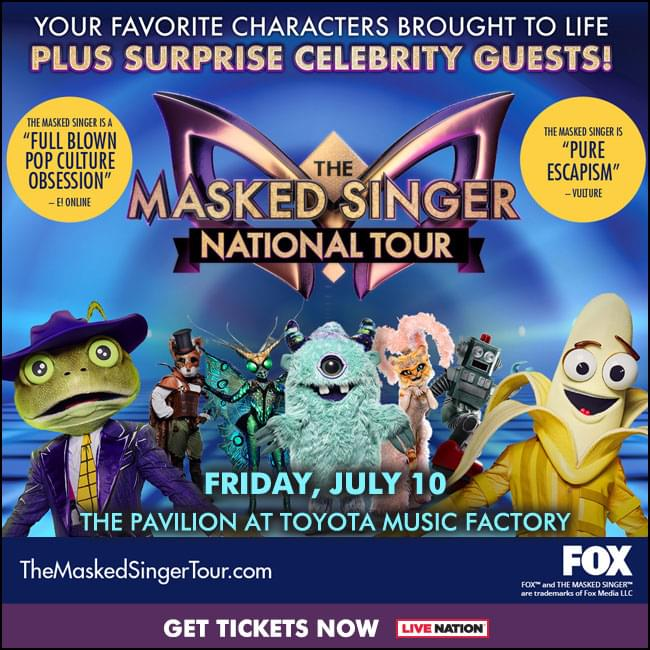 The Masked Singer @ Pavilion at Toyota Music Factory | 7.10.20