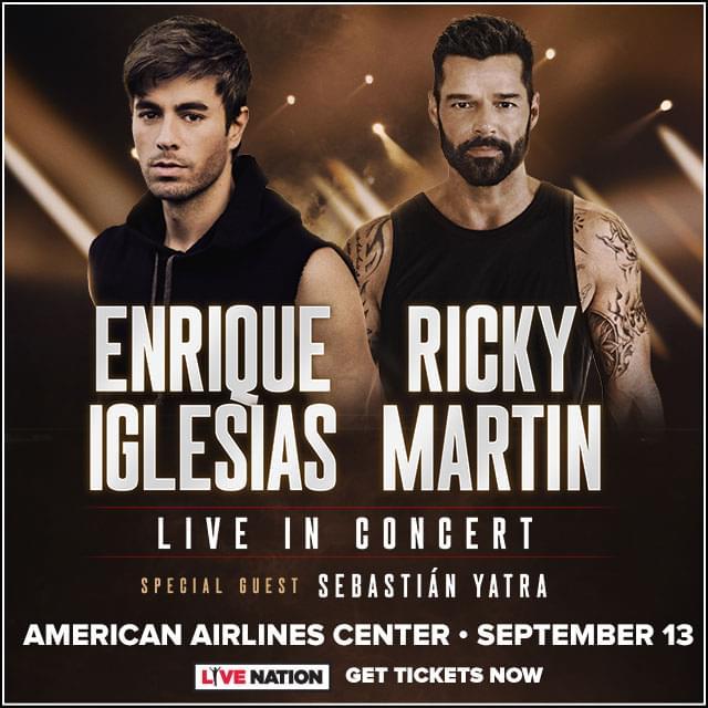 Enrique Iglesisas & Ricky Martin @ AAC | 9.13.20