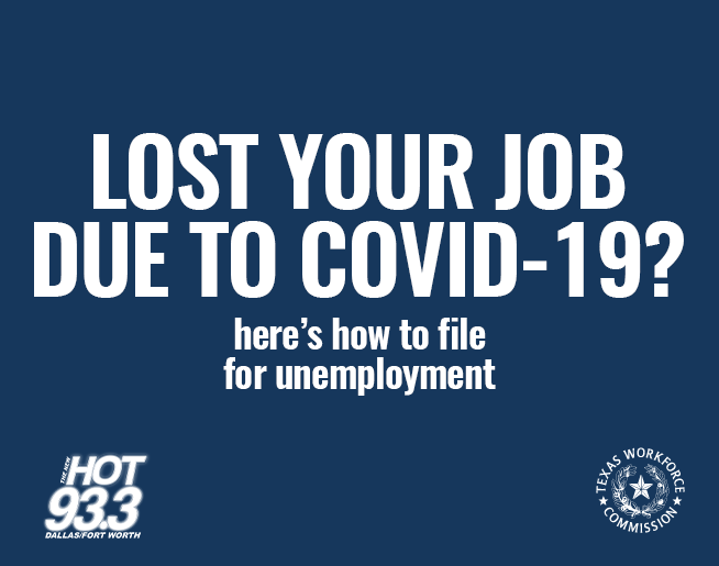 Lost Your Job Due To COVID-19? Here's How To File For Unemployment