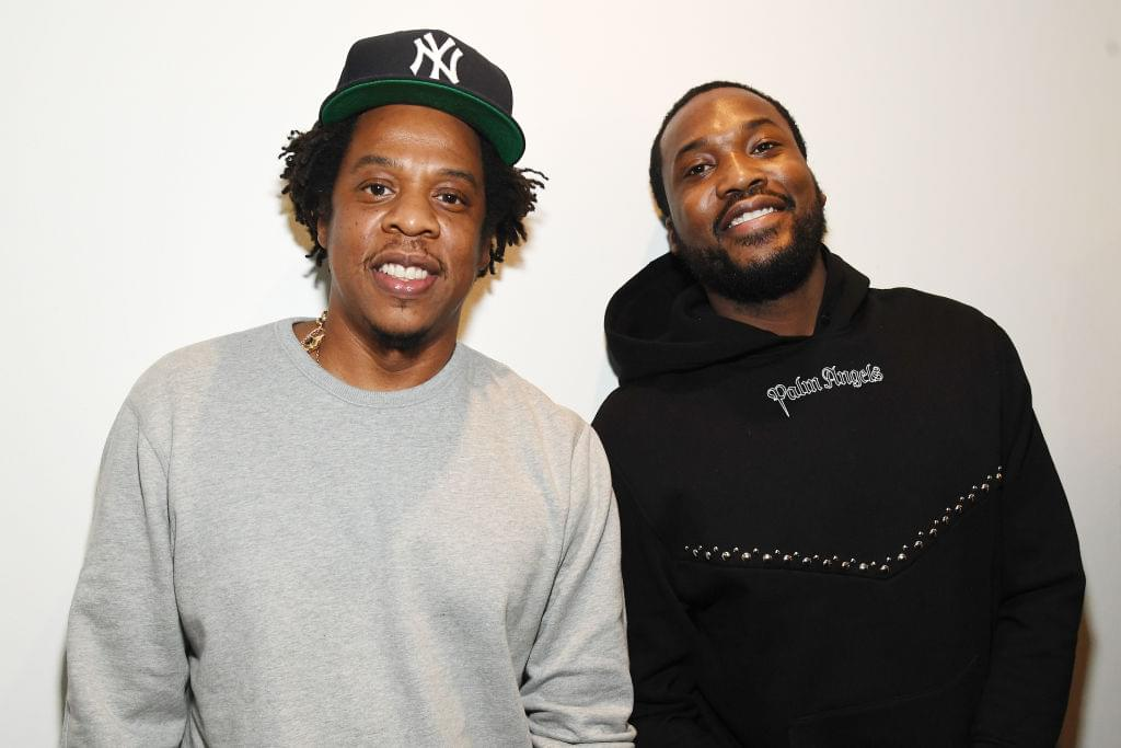 Getty Jay-Z and Meek Mill