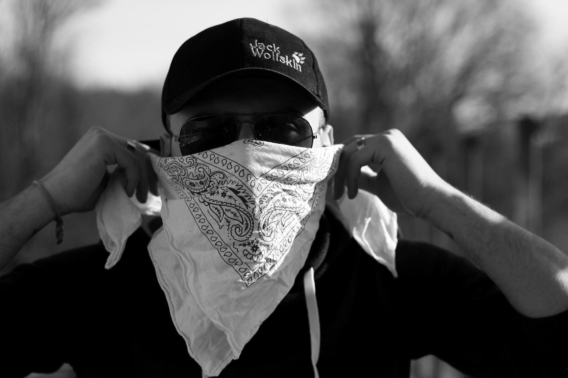 Bandanas Don't Work Well As Your Mask