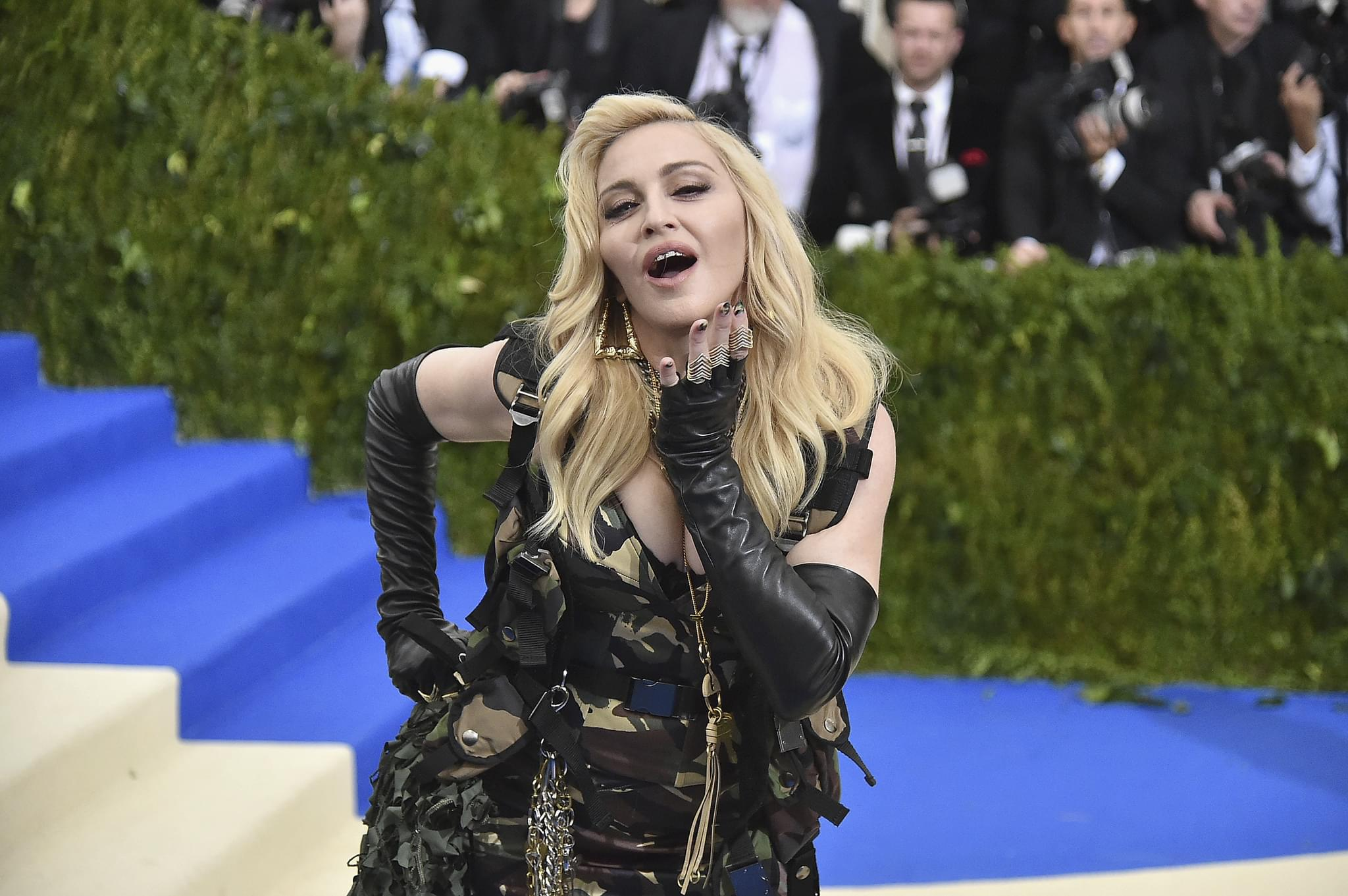 Madonna Posted Another Topless Selfie…Again