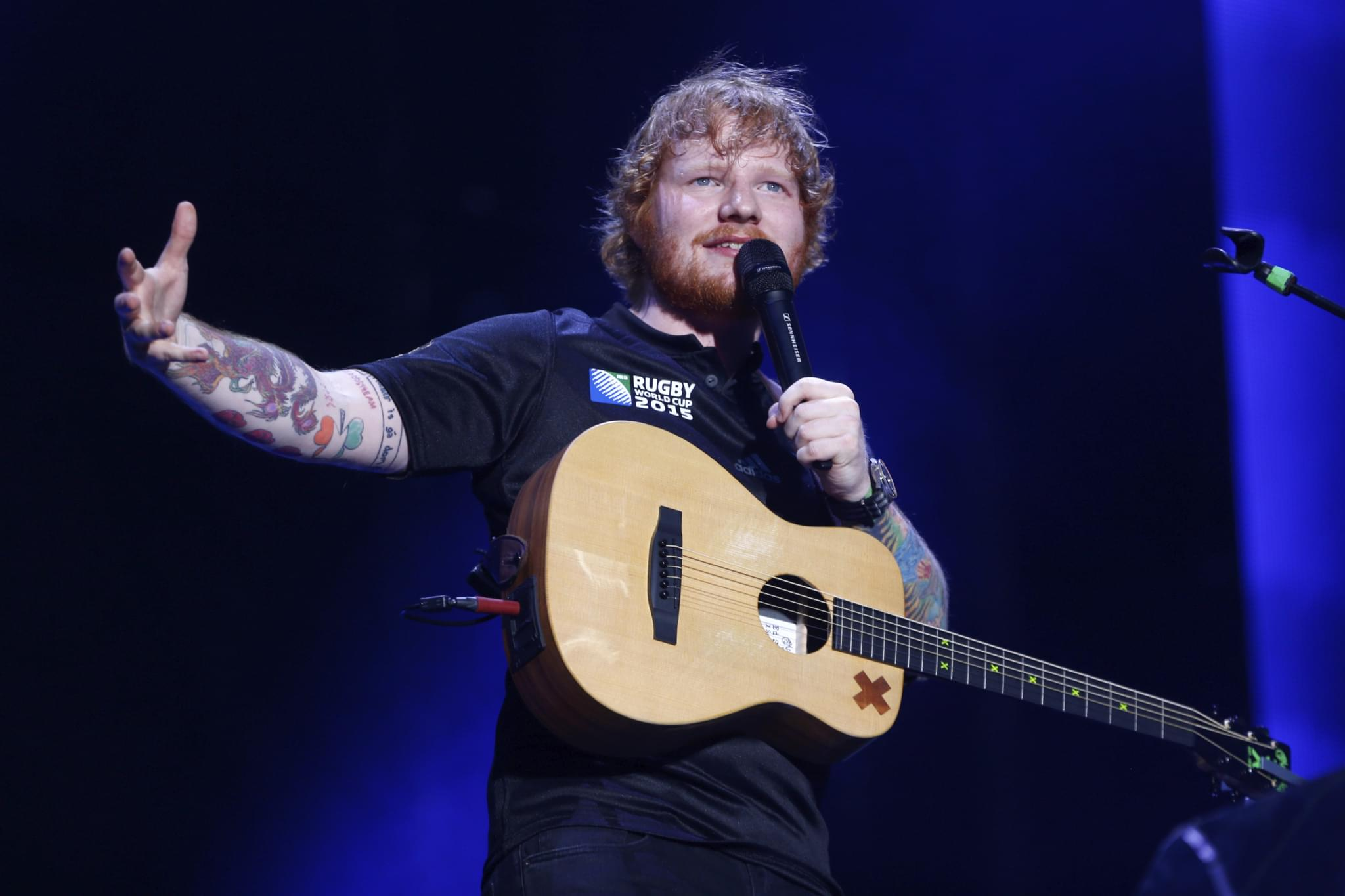 Ed Sheeran Talks About Addiction On Tour