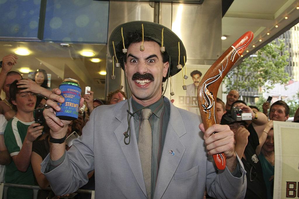 Kazakhstan Is Embracing Borat 2