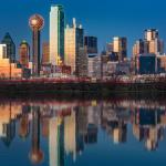 Downtown Dallas Honored Covid-19 Victims