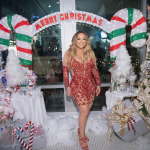 "Mariah Carey Debuts ""Oh Santa!"" Remix With Ariana Grande And Jennifer Hudson"