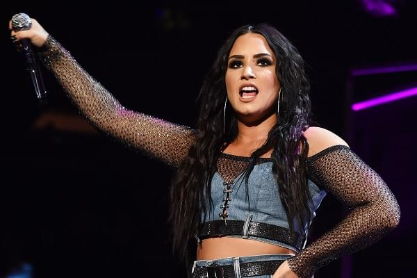 Demi Lovato Sang To A Ghost?